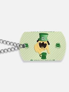 fFunny St. Patricks Irish Pu Dog Tags