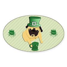 fFunny St. Patricks Irish Pu Decal