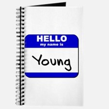 hello my name is young Journal