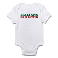Italians do it Better Infant Creeper