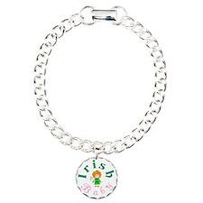 irish_baby_girl_wht Bracelet