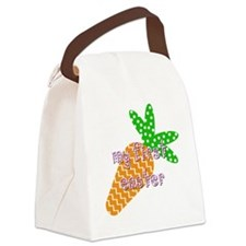 Bib - Girl - First Easter Canvas Lunch Bag