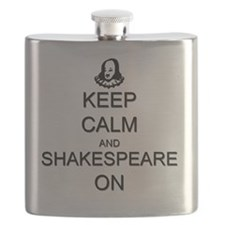 Keep Calm and Shakespeare On Flask