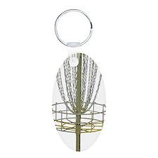 Disc Golf Basket Frisbee Fr Keychains