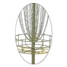 Disc Golf Basket Frisbee Frolf Decal