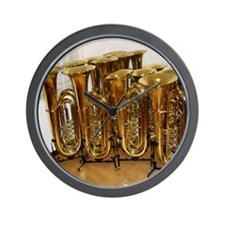 tubas-2 Wall Clock