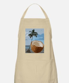 Coconut Pineapple Palm Tree Hawaii Beach Par Apron