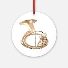 sousaphone-4 Round Ornament