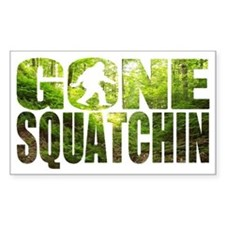 Gone Squatchin *Special Deep F Decal