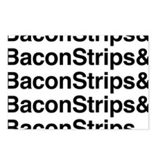 Bacon Strips Postcards (Package of 8)