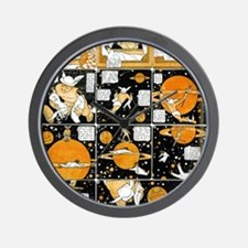 Little nemo in dreamland saturn Wall Clock
