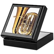 tuba-2 Keepsake Box