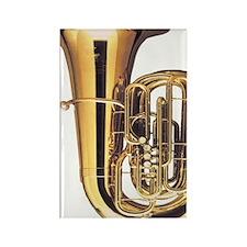 tuba-2 Rectangle Magnet