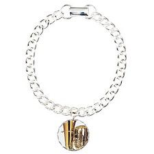 tuba-2 Charm Bracelet, One Charm