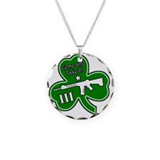 Come and Take It (Shamrock) Necklace