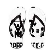 JOIN THE FUN - WHITE Flip Flops