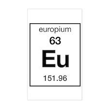 Europium Rectangle Decal