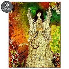 ipad mini Angel of Light Inspirational artw Puzzle