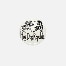Hog Dog Republic Logo Mini Button