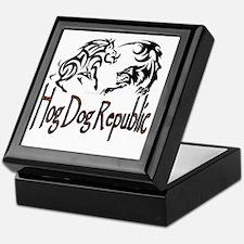 Hog Dog Republic Logo Keepsake Box