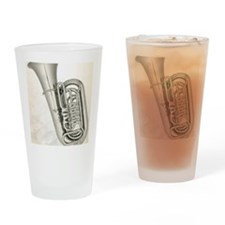 tuba-9 Drinking Glass