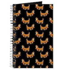 Cute Dachshund Cartoon Puppy Journal