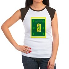 Happy St pats day in co Women's Cap Sleeve T-Shirt