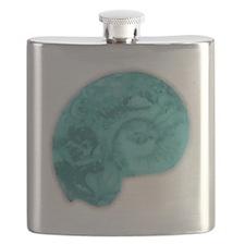 Ammonite Fossile Flask