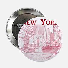 "NewYork_10x10_DuffySquare_Red 2.25"" Button"