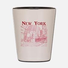NewYork_10x10_DuffySquare_Red Shot Glass