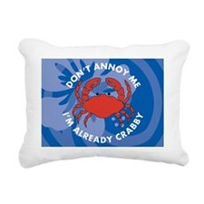 Dont Annoy Me 5 X 7 Area Rectangular Canvas Pillow