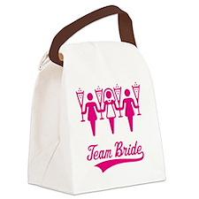 Team Bride (Bachelorette Party),  Canvas Lunch Bag