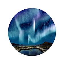 "Northern Lights 3.5"" Button"
