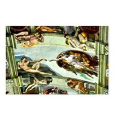 Sistine Chapel Ceiling Postcards (Package of 8)