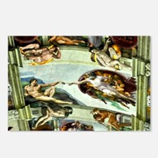 Sistine Chapel Ceiling Postcards (Package of 8)