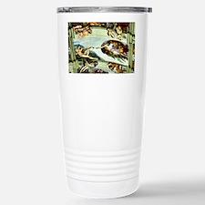 Sistine Chapel Ceiling Stainless Steel Travel Mug