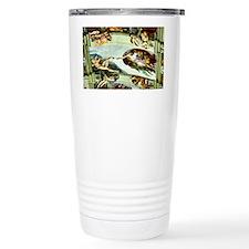 Sistine Chapel Ceiling Travel Coffee Mug