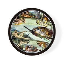 Sistine Chapel Ceiling Wall Clock
