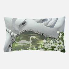 In the Garden - Quan Yin Flowers Pillow Case