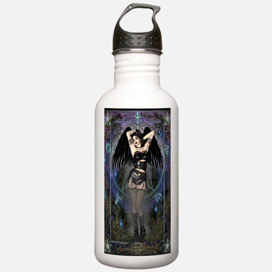 Gothic Vampire Water Bottle