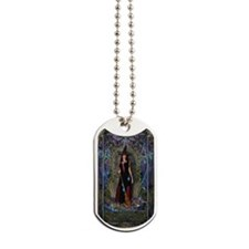 Blue Moon Witch Dog Tags