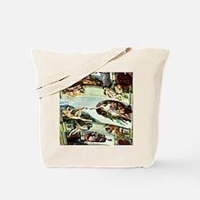 Sistine Chapel 10-9 Tote Bag