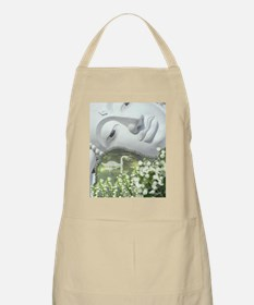 In the Garden - Quan Yin Flowers Apron