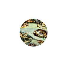 Sistine Chapel Ceiling 9X12 Mini Button