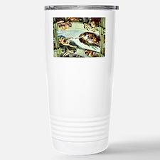Sistine Chapel Ceiling  Travel Mug