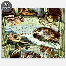 Sistine Chapel Ceiling 9X12 Puzzle