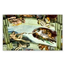 Sistine Chapel 11X15 Decal