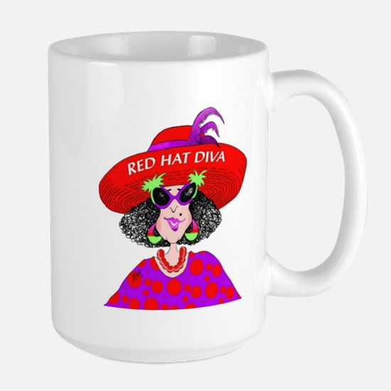 Red Hat Diva Mugs