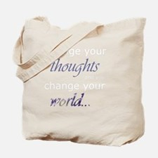 Change Your Thoughts (Dark) Tote Bag