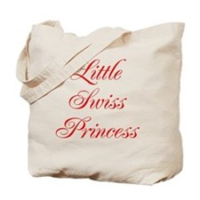 Little Swiss Princess Tote Bag